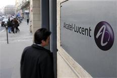 <p>L'équipementier télécoms franco-américain Alcatel-Lucent a accusé une perte plus lourde que prévu au 1er trimestre mais confirme son objectif d'un résultat d'exploitation ajusté à l'équilibre en 2009. /Photo d'archives/REUTERS/Charles Platiau</p>