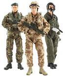 """<p>""""HM Armed Forces"""" dolls are seen in this undated handout image. REUTERS/Character Group/Handout</p>"""