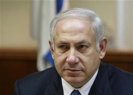 Israel's Prime Minister Benjamin Netanyahu attends the weekly cabinet meeting in Jerusalem in this May 10, 2009 file photo. REUTERS/Ammar Awad