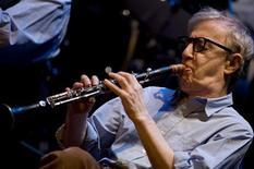 <p>Il regista cinematografico Usa Woody Allen. REUTERS/Felix Ordonez (SPAIN)</p>
