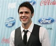 """<p>Foto de archivo del finalista del programa de televisión """"American Idol"""" Kris Allen en Los Angeles, mar 5 2009. REUTERS/Mario Anzuoni (UNITED STATES)</p>"""