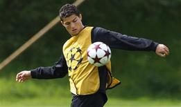 <p>Foto de arquivo do Cristiano Ronaldo do Manchester United. 20/05/2009. REUTERS/Phil Noble</p>