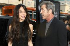 "<p>Mel Gibson and actress Oksana Grigorieva arrive at an industry screening of ""X-Men Origins: Wolverine"" at the Grauman's Chinese theatre in Hollywood, California April 28, 2009. REUTERS/Mario Anzuoni</p>"