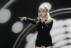 <p>Immagine della cantante britannica Duffy. REUTERS/Ina Fassbender (GERMANY)</p>