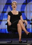 "<p>Actress Edie Falco laughs at a question during the Showtime panel for ""Nurse Jackie"" at the Television Critics Association winter press tour in Los Angeles January 14, 2009. REUTERS/Phil McCarten</p>"