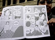<p>Fumetto boliviano. REUTERS/David Mercado</p>