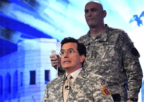 Colbert in Iraq