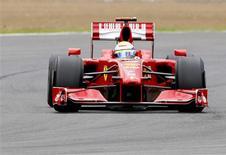 <p>Piloto da Ferrari de Fórmula 1 Felipe Massa do Brasil em Silverstone. 19/06/2009. REUTERS/Yves Herman</p>