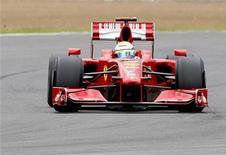 <p>Immagine d'archivio. REUTERS/Yves Herman (BRITAIN SPORT MOTOR RACING)</p>