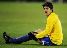 <p>Jogador brasileiro Kaká no jogo da Copa das Confederações em Johanesburgo. 28/06/2009. REUTERS/Dylan Martinez</p>