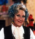"""<p>British actress Mollie Sugden as Mrs. Slocombe from the BBC television comedy series """"Are You Being Served?"""" is pictured in this 1983 publicity photo. REUTERS/BBC/Handout</p>"""