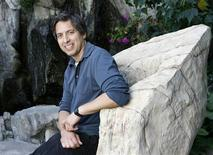 """<p>Actor Ray Romano, who gives his voice to Manny in the animated movie """"Ice Age: Dawn of the Dinosaurs"""" poses for a portrait in Marina del Rey, California June 8, 2009. REUTERS/Mario Anzuoni</p>"""