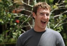 <p>Mark Zuckerberg, fondatore e amministratore delegato di Facebook. la foto è stata scattata lo scorso 9 luglio a Sun Valley, Idaho REUTERS/Rick Wilking</p>