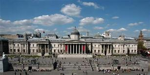 <p>A general view shows London's National Portrait Gallery in Trafalgar Square in this file photo from May 5, 2006. REUTERS/Rob Dawson</p>