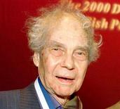 <p>Choreographer Merce Cunningham after receiving the 2000 Dorothy and Lillian Gish Prize in New York. REUTERS/File</p>