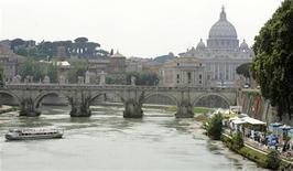 <p>Roma, tra 5 anni prima capitale europea interamente cablata. REUTERS PICTURE</p>