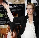 "<p>Actress Meryl Streep arrives for the premiere of ""Julie & Julia"" in New York July 30, 2009. REUTERS/Jamie Fine</p>"