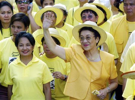 Cory Aquino, Philippine people power heroine, dies   Reuters