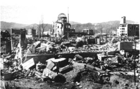 A view of Hiroshima after the atomic bombing on August 6, 1945. REUTERS/File