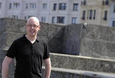 """<p>Irish author John Boyne stands during a photocall to promote the film of his book """"The Boy In The Striped Pyjamas"""", on the second day of the 56th San Sebastian Film Festival September 19, 2008. REUTERS/Vincent West</p>"""