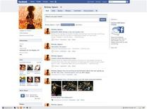 <p>A Facebook page is seen in a handout photo. REUTERS/Facebook/Handout</p>