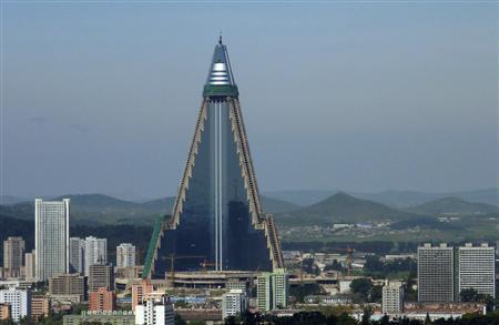 "North Korea's ""Hotel of Doom"" gets a..."