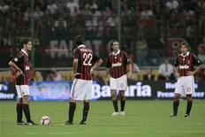 <p>Calcio, Fininvest ribadisce che Milan non è in vendita. REUTERS/Alessandro Garofalo</p>