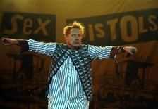<p>L'ex cantante dei Sex Pistols John Lydon. REUTERS/Vincent West</p>