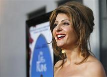 """<p>A atriz e roteirista Nia Vardalos estreia a comédia """"Falando grego"""" REUTERS/Mario Anzuoni</p>"""