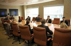 <p>A boardroom in a file photo. REUTERS/File</p>