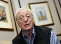 <p>Actor Michael Caine poses for a picture in New York April 6, 2009. REUTERS/Shannon Stapleton</p>