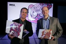 <p>Due computer Dell. REUTERS/Joe Skipper (UNITED STATES BUSINESS SCI TECH)</p>
