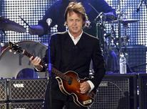 <p>Shows de Paul McCartney em Nova York viram CD e DVD REUTERS/Shannon Stapleton (UNITED STATES ENTERTAINMENT)</p>