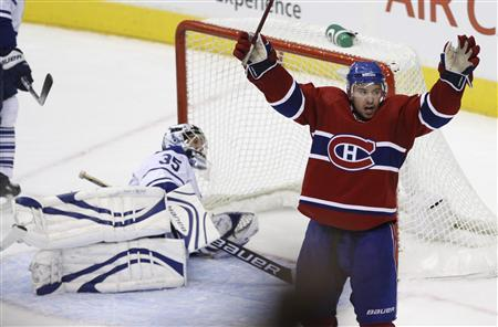 Gorges Lifts Canadiens To Opening Win Over Leafs Reuters Com