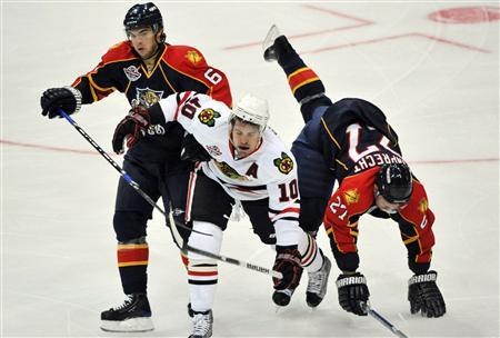 Chicago Cruise To 4 0 Win Over Florida In Helsinki Reuters