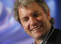 <p>Il cofondatore e AD di MySpace Chris DeWolfe. REUTERS/Denis Balibouse</p>