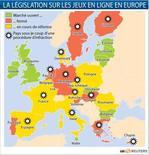 <p>LA LÉGISLATION SUR LES JEUX EN LIGNE EN EUROPE</p>