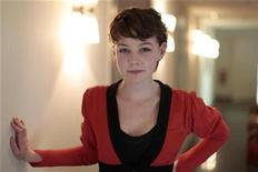 <p>Actress Carey Mulligan poses after a presentation of the European 'Shooting Stars 2009' award winners in Berlin February 9, 2009. REUTERS/Johannes Eisele</p>