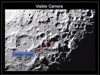 <p>Un'immagine dell'impatto dei due razzi contro il cratere lunare diffusa dalla Nasa. REUTERS/NASA/Handout (UNITED STATES ENVIRONMENT SCI TECH) FOR EDITORIAL USE ONLY. NOT FOR SALE FOR MARKETING OR ADVERTISING CAMPAIGNS</p>