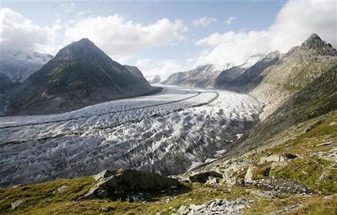 Glaciers in trouble?