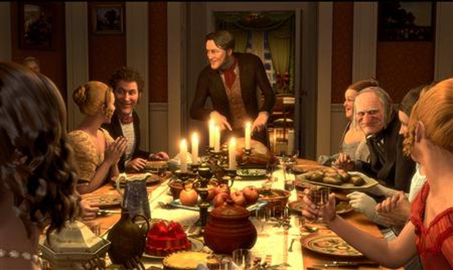 A Christmas Carol 2009 Cast.A Christmas Carol Gets Thrill Ride Movie Treatment Reuters