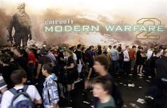 <p>Anúncio do videogame durante a convenção Gamescom, ocorrida em agosto em Colônia, na Alemanha. REUTERS/Ina Fassbender</p>