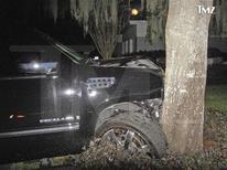 <p>Após acidente, Woods fica fora de torneio organizado por ele. REUTERS/TMZ.com/Handout</p>