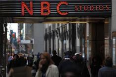 <p>Gli studi della Nbc a New York. REUTERS/Finbarr O'Reilly (UNITED STATES BUSINESS MEDIA)</p>