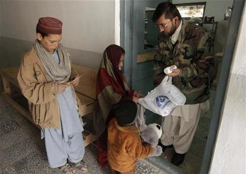Afghan check-up