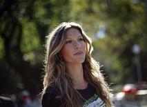 <p>La modella brasilia Gisele Bundchen REUTERS/Eric Thayer</p>