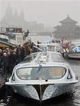 <p>L'arrivo di Nemo ad Amsterdam. REUTERS/Paul Vreeker/United Photos (NETHERLANDS ENVIRONMENT ENERGY TRANSPORT BUSINESS SOCIETY)</p>
