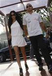 <p>Lewis Hamilton e Nicole Scherzinger in una foto d'archivio. REUTERS/Tim Chong</p>