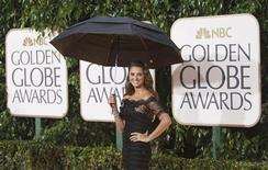 "<p>Spanish actress Penelope Cruz from the film ""Nine"" arrives at the 67th annual Golden Globe Awards in Beverly Hills, California January 17, 2010. REUTERS/Mario Anzuoni</p>"