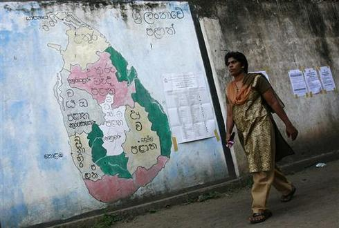 Sri Lanka votes